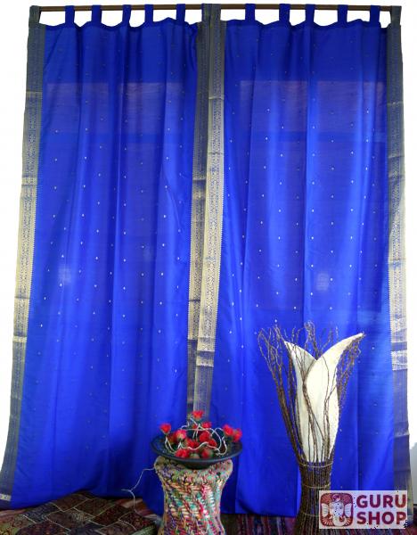 blaue vorhnge elegant vorhang mit schlaufe jolie with blaue vorhnge gardinen vorhnge schick. Black Bedroom Furniture Sets. Home Design Ideas